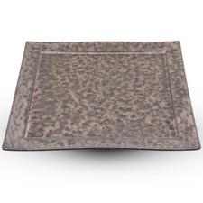 Bronze Yogan Square Plate