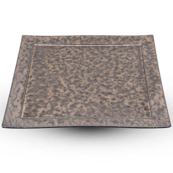 Image of Bronze Yogan Square Plate