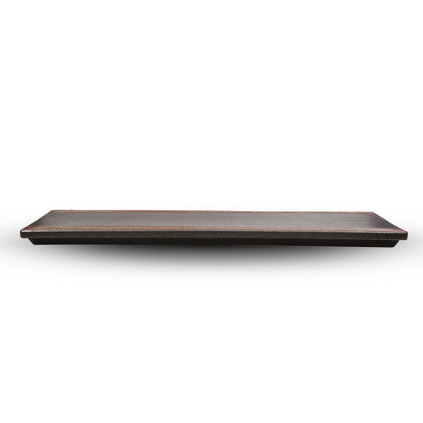 Image of Brown Oblong Plate 2