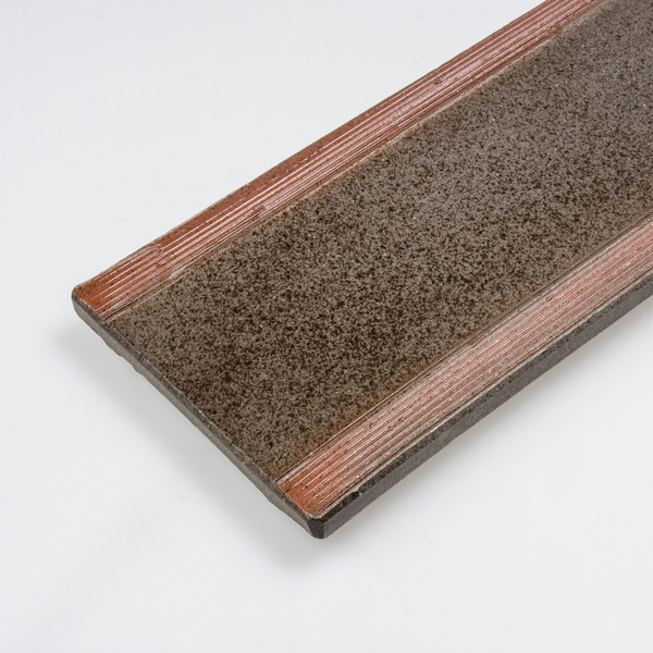 Image of Brown Oblong Plate 3