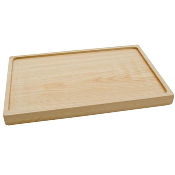 Image of Wooden Base for Black Rectangular Slate 1