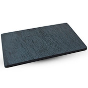 Slate Design Black RectangularPlate