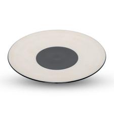 Azure Blue Round Plate