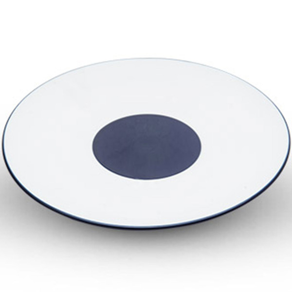 Image of Azure Blue Round Plate
