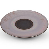 Marrone Red Round Plate