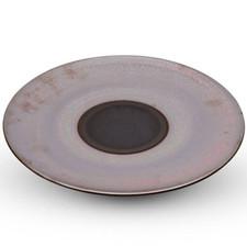 Marrone Red Round Plate