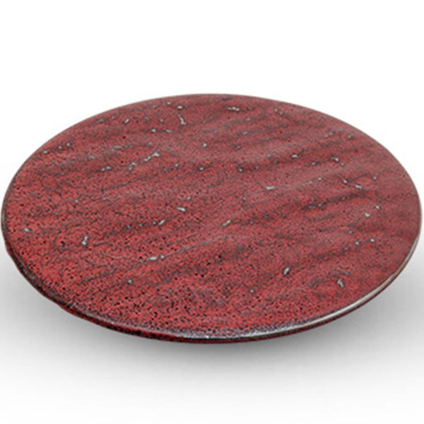 """Image of Shuin Flat Round Plate (8.25""""Dia.)"""