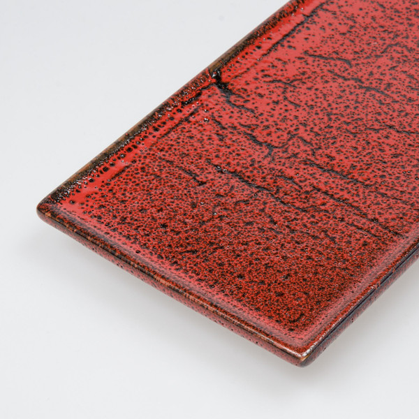 Image of Shuin Red Rectangular Plate 3