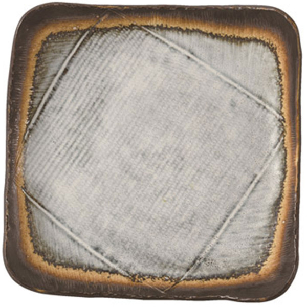 Image of Kasumi Gray Square Plate