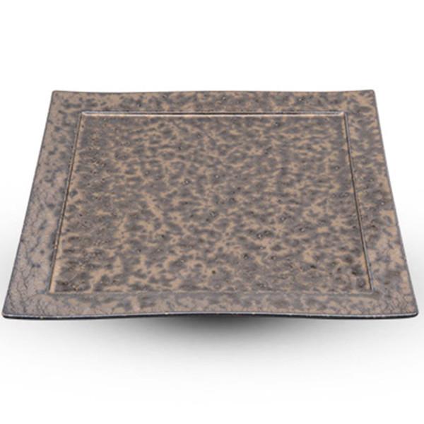 Image of Yogan Bronze Square Plate