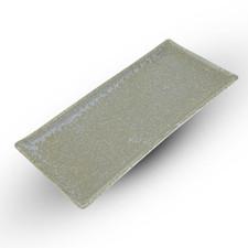 Zorba Blue Rectangular Plate