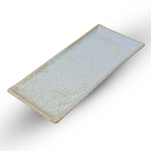 Image of Zorba Blue Rectangular Plate 1