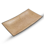 Sandy Brown Rectangular Plate