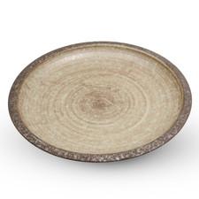 Brown Nenrin Round Plate