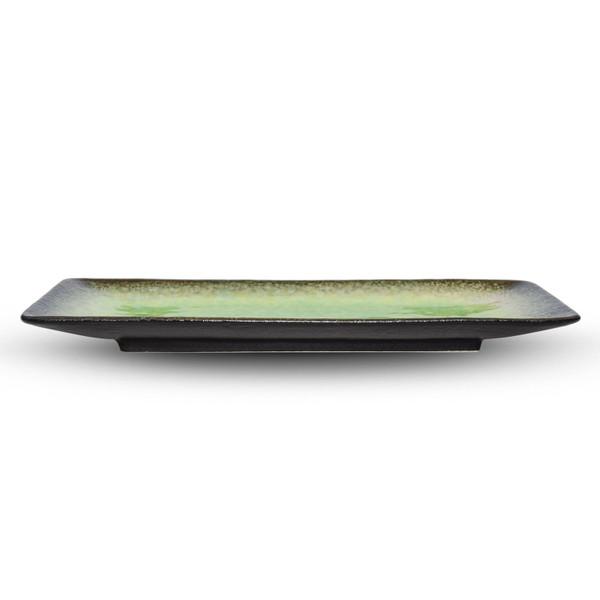 Image of Ariake Green Rectangular Plate 2