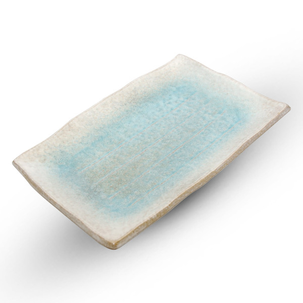 Image of Kumo Blue Rectangular Plate 1