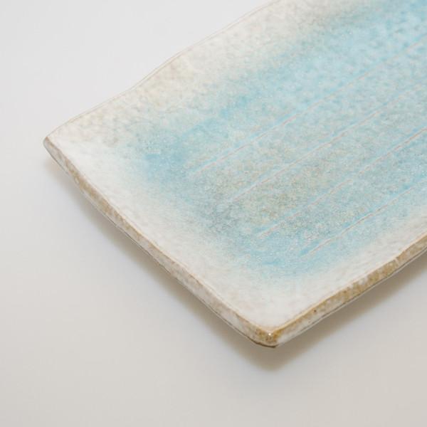 Image of Kumo Blue Rectangular Plate 3
