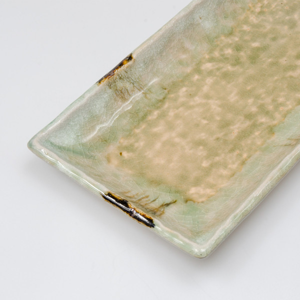 Image of Sand Vidro Green Rectangular Plate 3