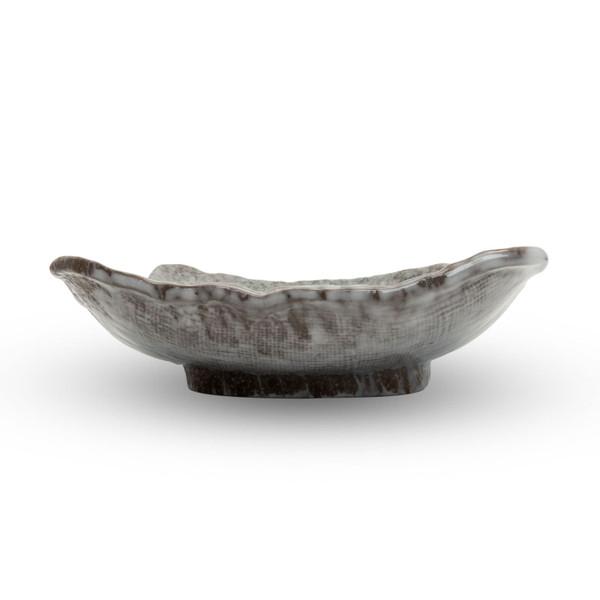 Image of Gray Aobuki Square Plate 2
