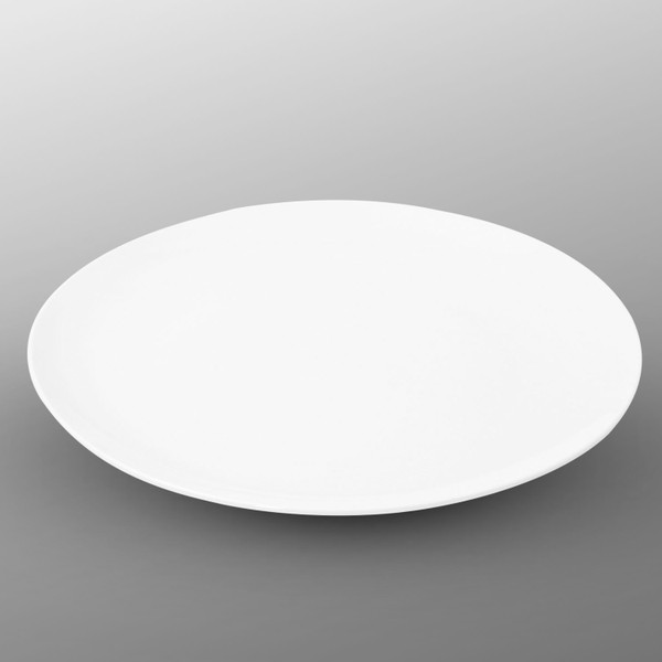 Image of Korin Durable White Round Plate - Large