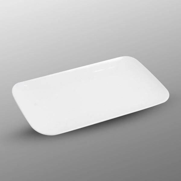 Image of Korin Durable White Rectangular Plate