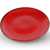 Korin Durable Red Round Plate