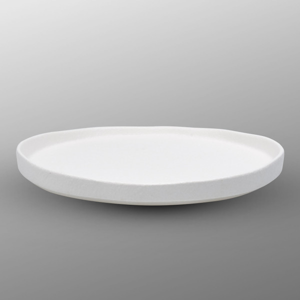 Image of Korin Durable White Flat Round Plate 2