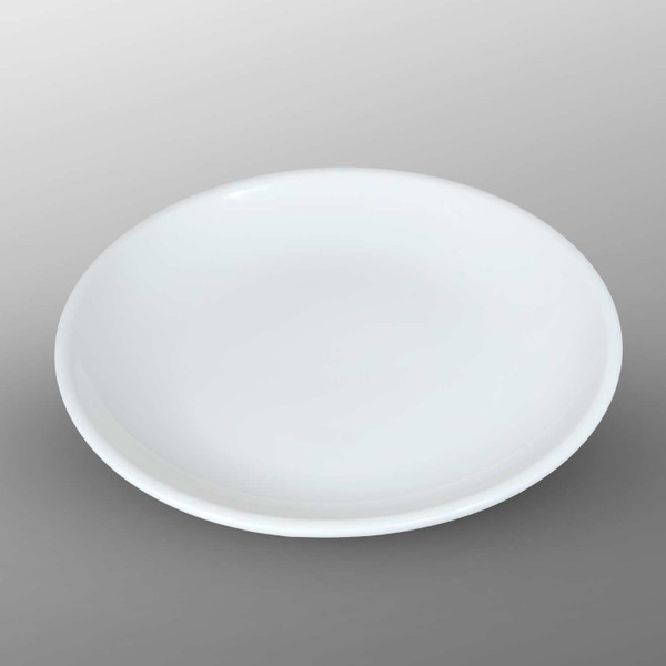 Image of Korin Durable White Round Shallow Plate 1