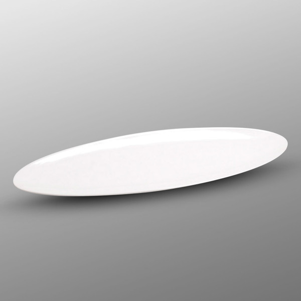 Image of Korin Durable White Long Oval Plate