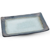 Metallic Glacier Rectangular Plate