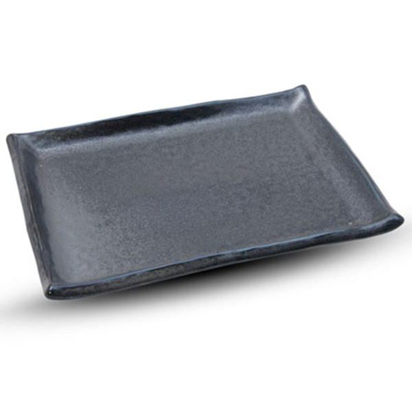 Image of Tessa Black Rectangular Plate