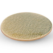 Forest Oribe Footed Round Plate
