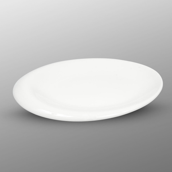 Image of Korin Durable White Oval Plate 1