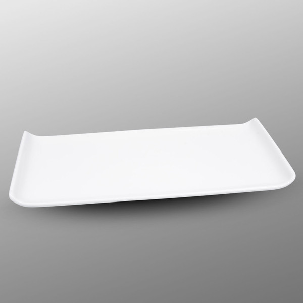 Image of Korin Durable White Rectangular Plate 1