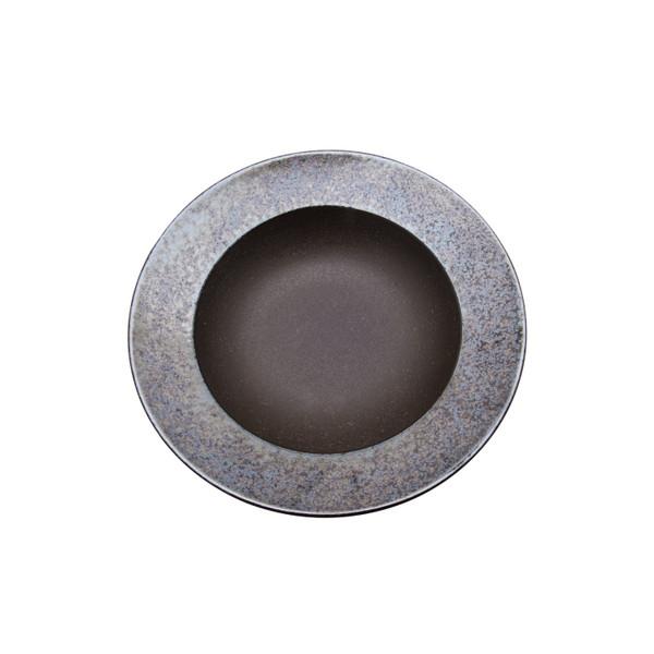 Image of Kouetsu Graphite Coupe Round Plate 2