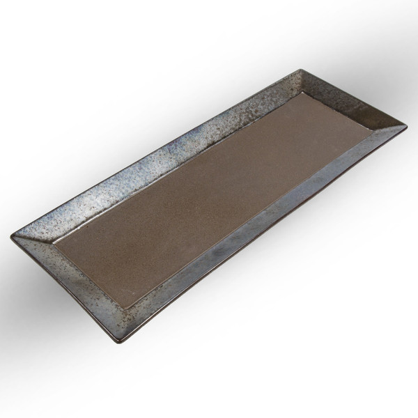Image of Kouetsu Graphite Rectangular Platter 1