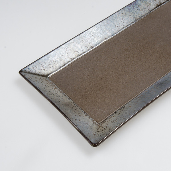 Image of Kouetsu Graphite Rectangular Platter 3