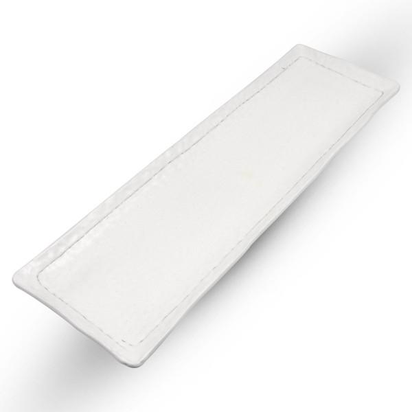 Image of Kobiki White Oblong Plate 1