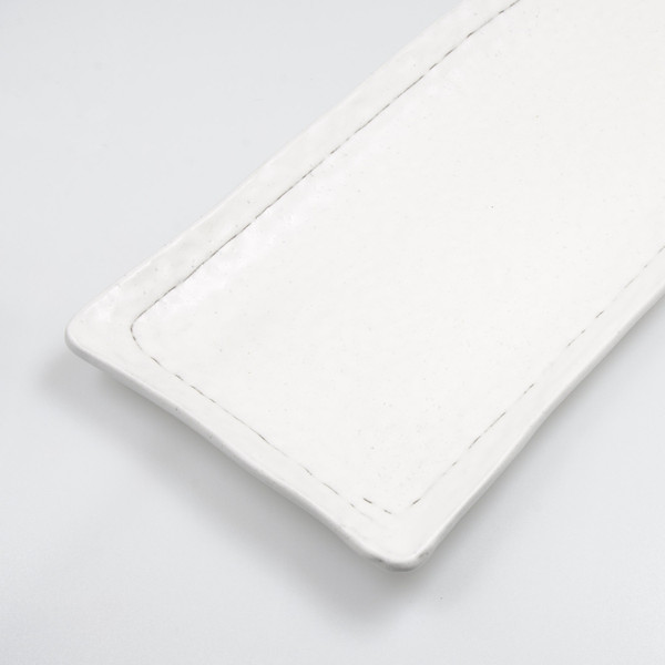 Image of Kobiki White Oblong Plate 4