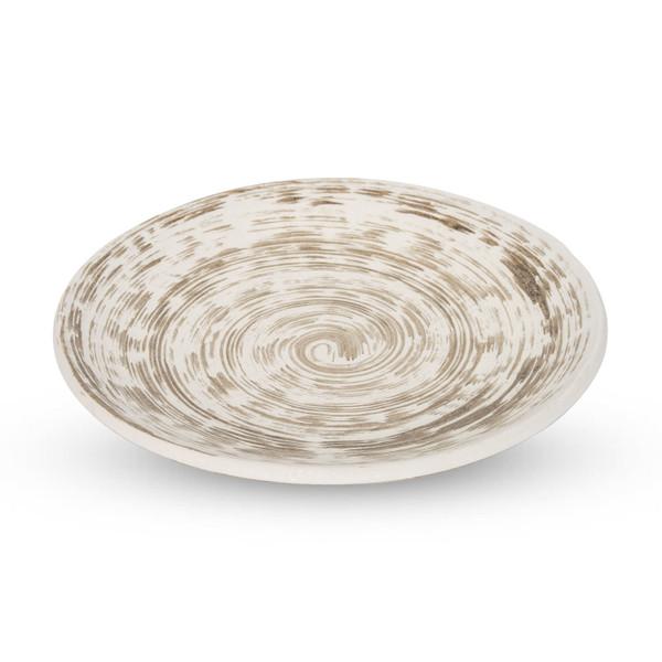 Image of Uzumaki Brown Round Plate 1