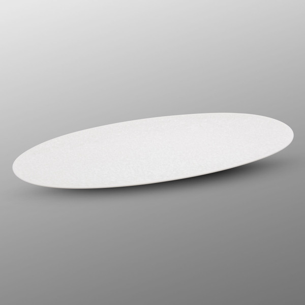 Image of Saku White Oval Plate