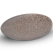 Kinkessho Bronze Oval Plate
