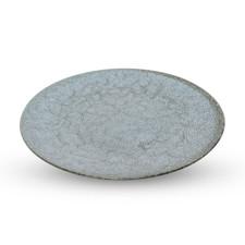 Sora Gray Round Plate