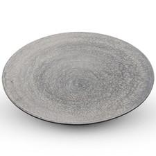 Shusetsu Silver Round Plate