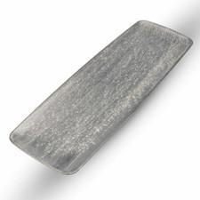 Shusetsu Silver Rectangular Plate