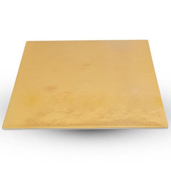 Image of Urushi Gold Square Plate - Large 1