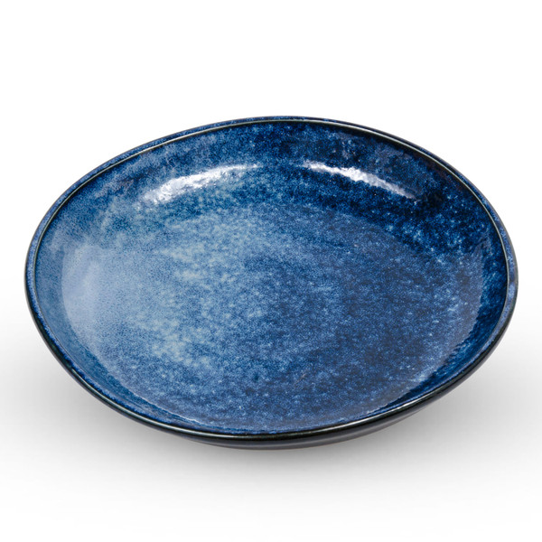 Image of Navy Blue Gradient Round Plate 1