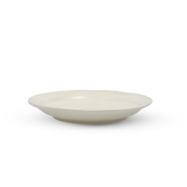 Image of Hake Brush White Round Plate 2