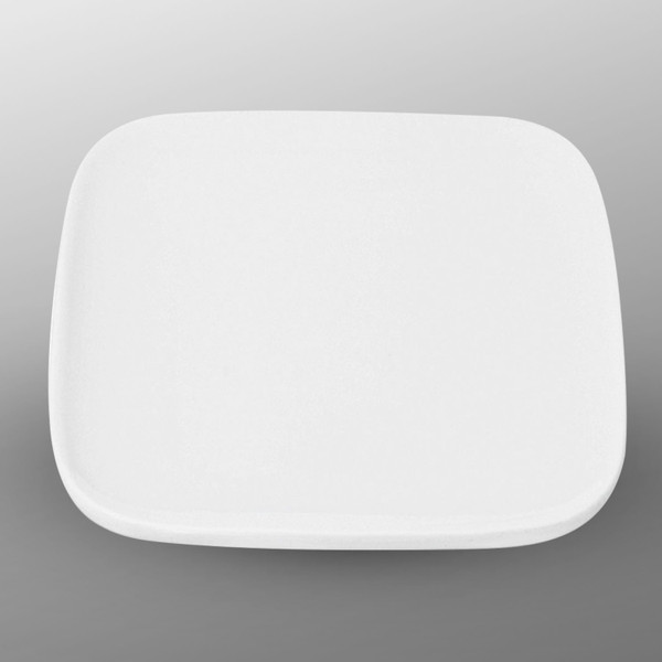 Image of Korin Durable White Rounded Square Plate 1
