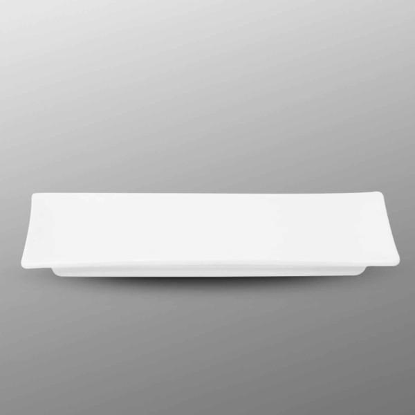 Image of Korin Durable White Long Rectangular Plate